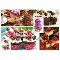 Trefl - Cuisine Decor, Muffins Puzzle 1000pc