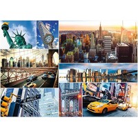Trefl - New York City Collage Puzzle 4000pc
