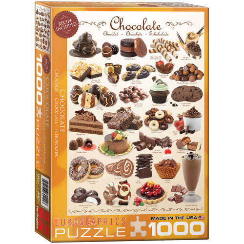 Eurographics - Chocolate Puzzle 1000pce