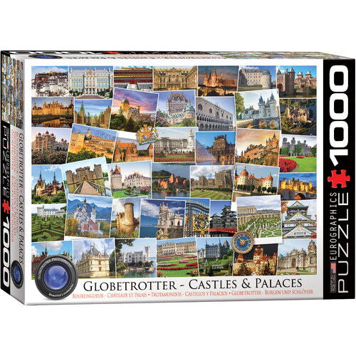 Eurographics - Globetrotters Castles and Palaces Puzzle 1000pc