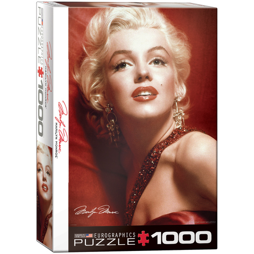 Eurographics - Marilyn Monroe Red Portrait Puzzle 1000pc