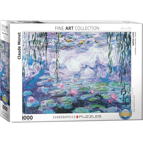 Eurographics - Monet Waterlilies Puzzle 1000pce