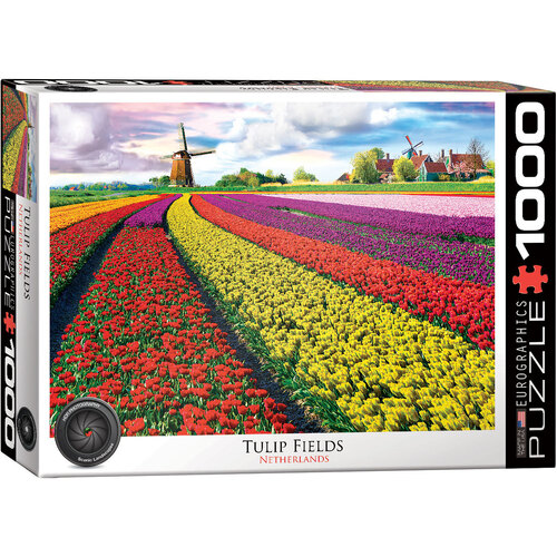 Eurographics - Tulip Fields, Netherlands Puzzle 1000pc