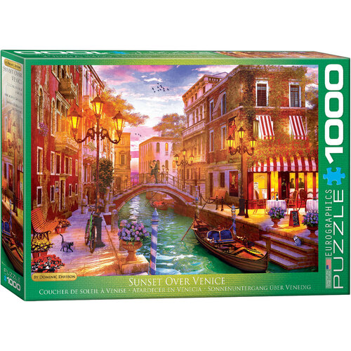 Eurographics - Sunset Over Venice Puzzle 1000pc