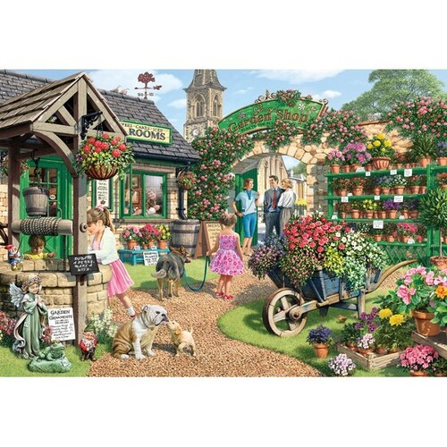 Holdson - Gallery, Garden Shop Large Piece Puzzle 300pc