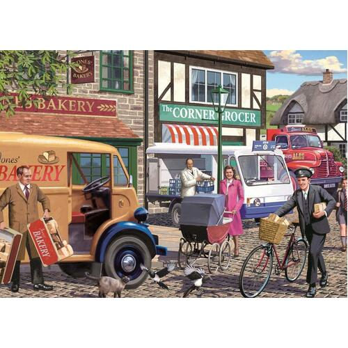Jumbo - Morning Deliveries Puzzle 1000pc