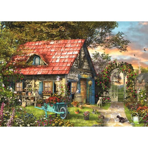 Jumbo - Garden Shed Large Piece Puzzle 500pc