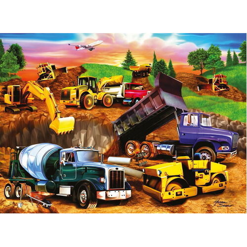 Ravensburger - Construction Crowd Puzzle 60pc