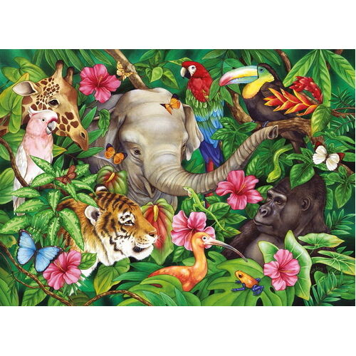 Ravensburger - Tropical Friends Puzzle 60pc