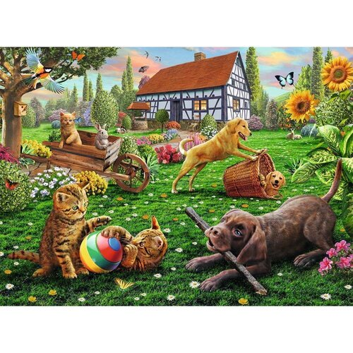 Ravensburger - Playing In The Yard Puzzle 200pc