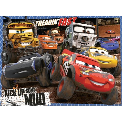 Ravensburger - Disney Cars Mudders Puzzle 100pc