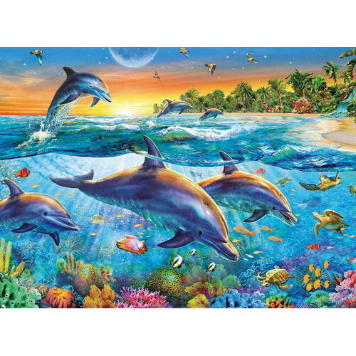 Ravensburger - Dolphin Cove Puzzle 500pc