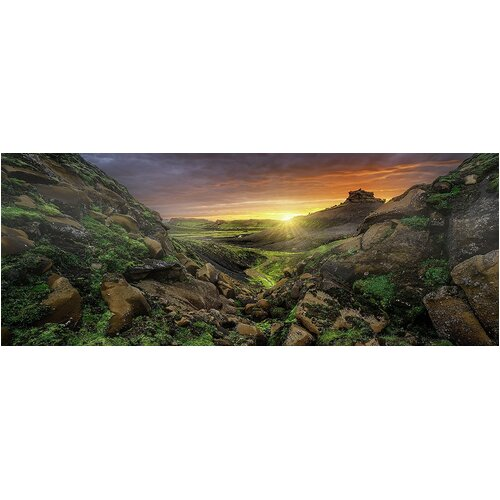 Ravensburger - Sun over Iceland Panorama Puzzle 1000pc
