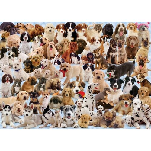 Ravensburger - Dogs Collage Puzzle - 1000pc