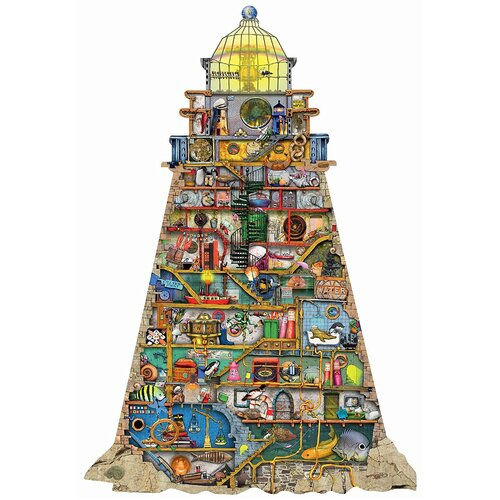 Ravensburger - Silhouette Puzzle Colin Thompson Ludicrous Lighthouse 995pc
