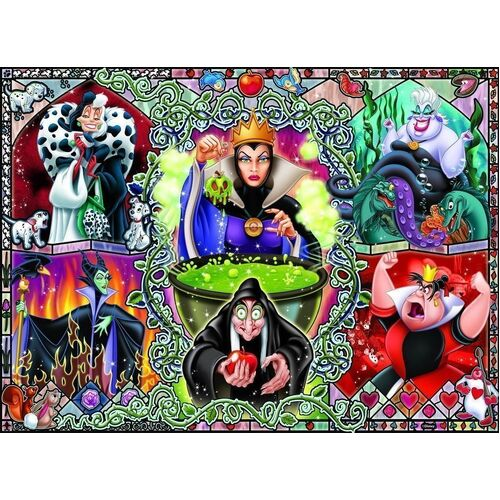 Ravensburger - Disney Wicked Women Puzzle 1000pc