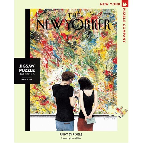 New York Puzzle Company - Paint by Pixels Puzzle 1000pc